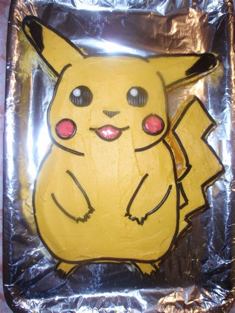 Pikachu Cake Template by Pikachu Birthday Cake Birthday Cake Ideas