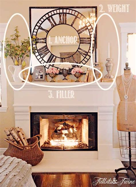 Decorating A Mantle | how to decorate a mantel tidbits twine