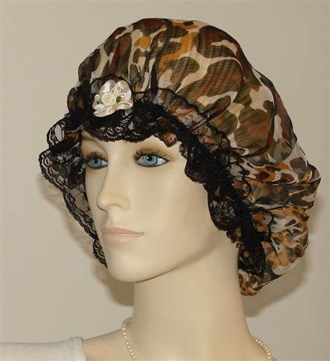 hair chiffon animal fur print chiffon silk hair bonnet pauljulia designs
