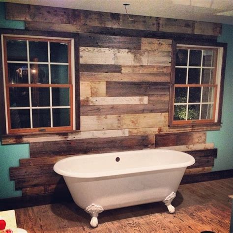 reclaimed bathrooms reclaimed things wood wall rustic bathroom other