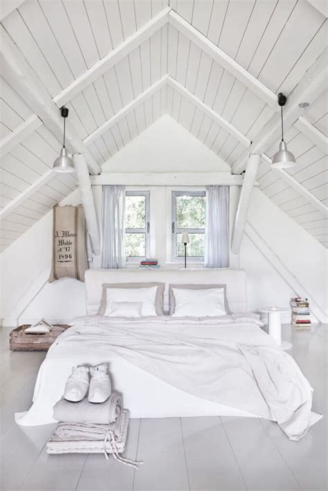 Bed Ceiling by 70 Cool Attic Bedroom Design Ideas Shelterness