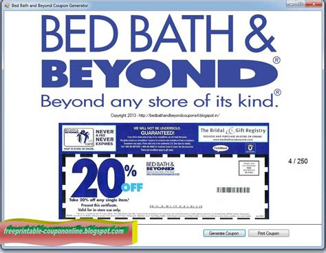bed bath 20 coupon printable coupons 2018 bed bath and beyond coupons
