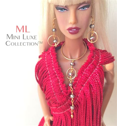 fashion royalty doll jewelry fashion doll jewelry for fashion royalty by miniluxecollection