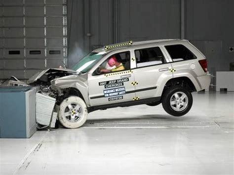 Jeep Grand Crash Test 2007 Jeep Grand Moderate Overlap Iihs Crash Test
