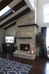 rock tile fireplace best 25 modern fireplace ideas on