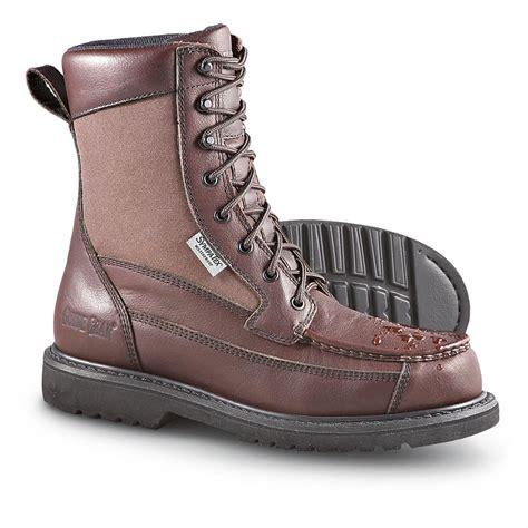 s guide gear 174 waterproof kangaroo boots brown