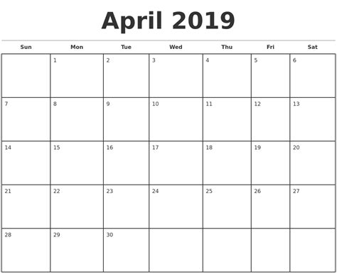printable monthly calendars with pictures march 2019 print a calendar