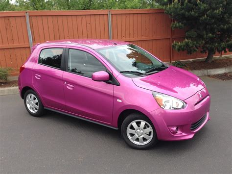 pink mitsubishi mirage cheapest mpg you can buy what cars give lowest cost mileage