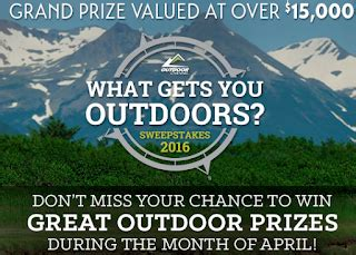 Outdoor Channel Giveaway - outdoor channel daily prize giveaway 31 winners prizes includes gopro cameras