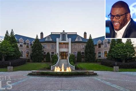 perry house inside tyler perry s 25m atlanta mansion page six