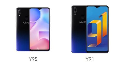 Vivo Y91 Vs Samsung A10 by Vivo Y91 Vs Vivo Y95 Ponsel Serupa Tapi Beda Level Gadgetren
