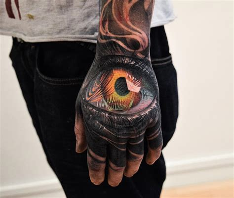 hand eye tattoo eye on www pixshark images galleries