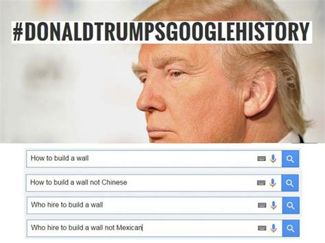 Search History Meme - donald trump s google search history