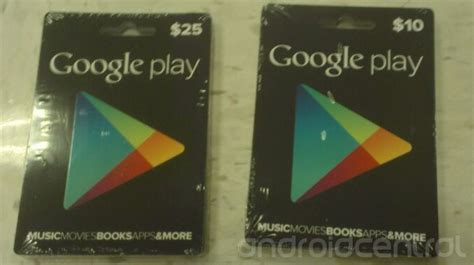 Where To Buy Play Store Gift Card - physical google play store gift cards pictured in 10 25 denominations could come