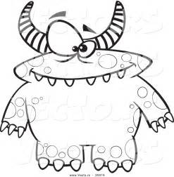 monster coloring pages bestofcoloring com