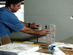 Installing Kitchen Backsplash by How To Install A Kitchen Backsplash