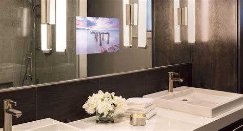 tv behind bathroom mirror s 233 ura