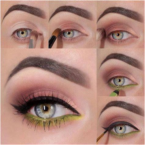 orange makeup tutorial green orange soft natural eyes makeup tutorial