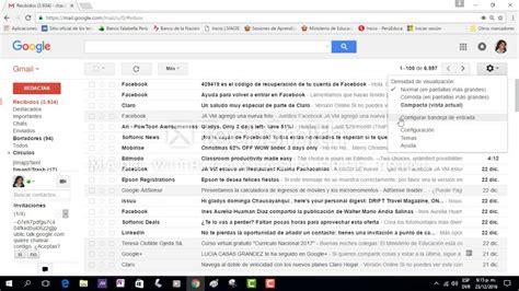 gmail bandeja de entrada como ordenar mi bandeja de entrada en mi correo de gmail