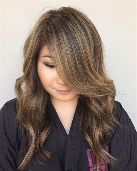 rounded layer haircuts 20 jaw dropping long hairstyles for round faces