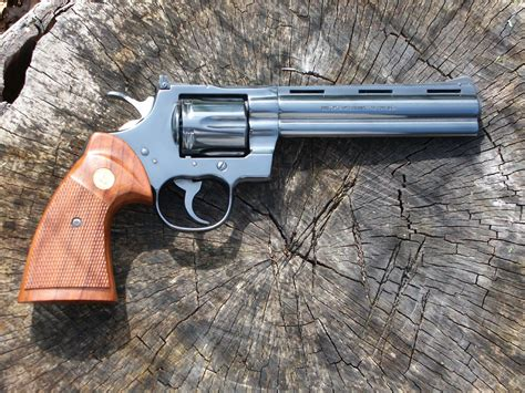 best revolver the colt python the best revolver made the