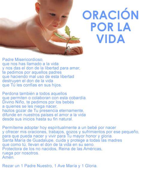 oracion de bebe por nacer la vida