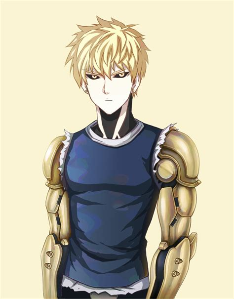 One punch man genos contacts online