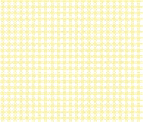 yellow gingham pattern gingham yellow fabric flossies garden spoonflower