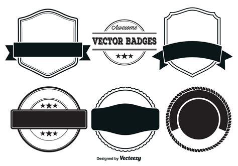vector badge templates   vectors clipart