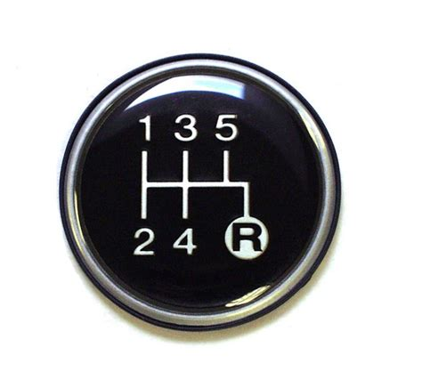 5 Speed Shifter Knobs by Crown Automotive J3241073 5 Speed Transmission Shift