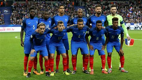 Francia Mundial 2018 Los Equipos Mundial 2018 Francia