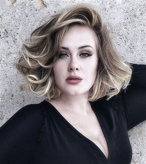 Adele Hairstyles by Adele Without Makeup On Mugeek Vidalondon