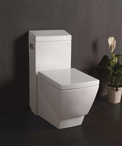 Square Toilet by Ariel Platinum Tb336m Modern Toilet White Bathroom