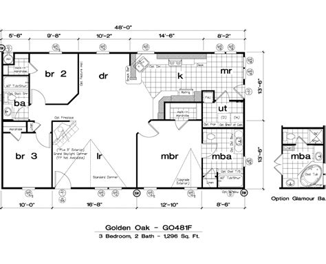 Golden West Homes Floor Plans | golden west golden oak floor plans 5starhomes