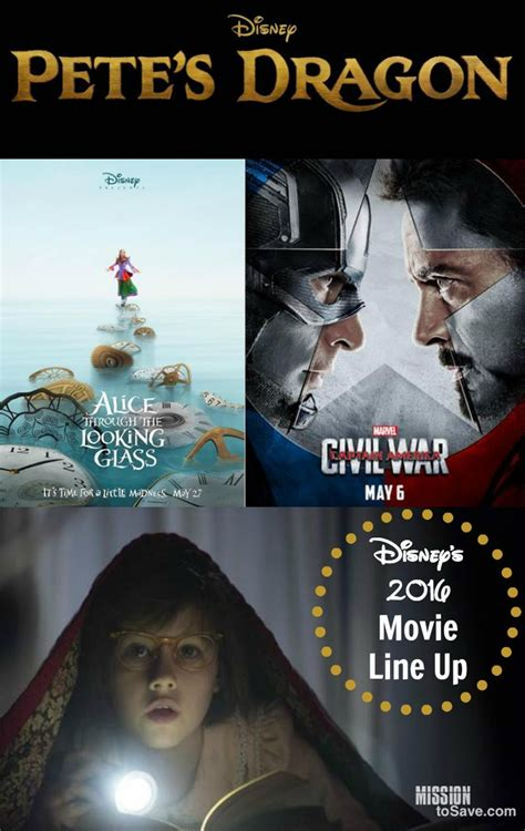 film line up disney s 2016 movie line up coming soon to a theatre