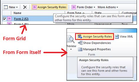 get layout xml crm 2011 design the form as required and then assign security role