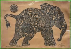 Thai Design by Traditional Thai Elephant Tattoo Design Tatuajes Pinterest