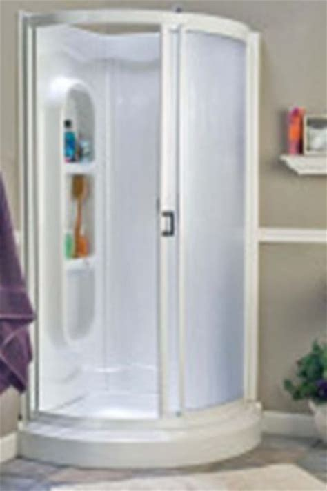 Shower Door Frame Kit American Shower Bath 422000 Shower Kit 34 Quot Fluted High Impact Polystyrene Sliding Door