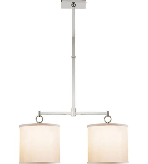 Visual Comfort Island Light Visual Comfort Bbl5035pn S Barbara Barry Cuff 2 Light 34 Inch Polished Nickel Linear