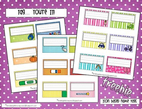 Name Template Maker by Name Tag Maker Free Printable