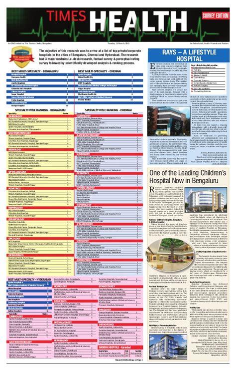 Healthcare Mba Ranking by Kims Toi Ranking Best Hospital