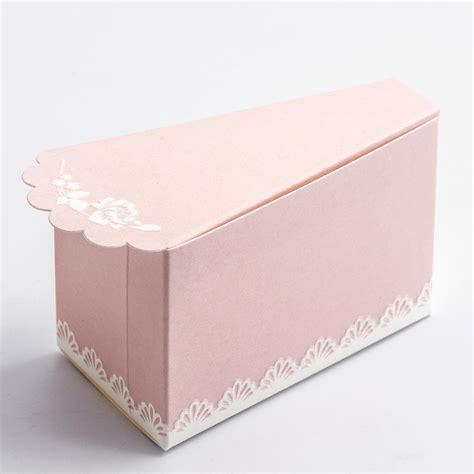 Shabby Chic   Cake Box   UK Wedding Favours