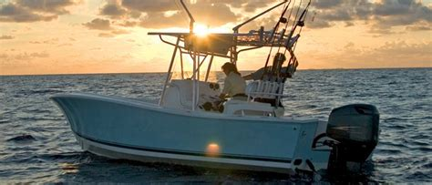best ocean fishing boat brands center console buyers guide discover boating