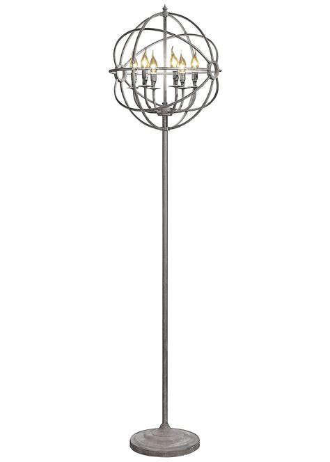 chandelier floor l amazon possini chrome nest chandelier floor l