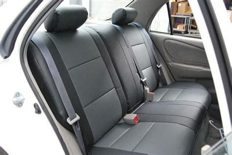 Toyota Corolla S Seat Covers Toyota Corolla 1998 2002 Iggee S Leather Custom Seat Cover