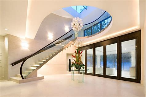 contemporary home interior design ideas new home designs modern homes interior stairs