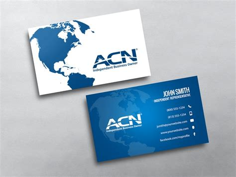 acn business cards free shipping