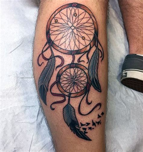 dream catchers tattoos for men 100 dreamcatcher tattoos for design ideas