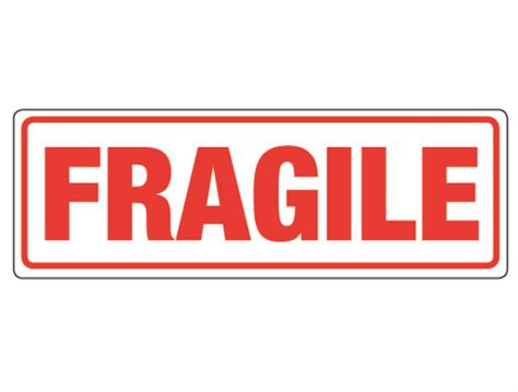 Label Sticker Pengiriman Fragile 2 6x2cm fragile self adhesive shipping label sticker 5000 pcs lot item no ss21 in stationery