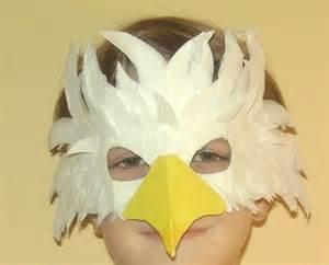 mascara de papel de un tucan re creo de colores m 193 scara de 193 guila de cabeza blanca
